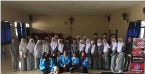 Mahasiswa FH UBB Penyuluhan Hukum ke SMA Negeri 1 Sungailiat
