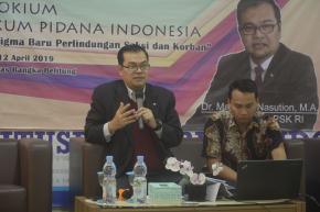 Kolokium Hukum Pidana Indonesia Bersama LPSK RI